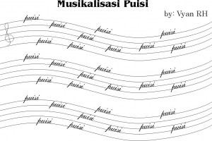 Musikalisasi puisi, seperti halnya deklamasi atau pembacaan puisi